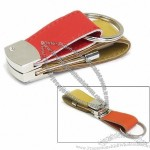 Leather USB Memory Pen Drive With Fold-Up Buckle