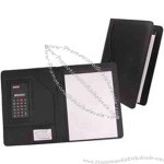 Leatherette Memo Holder With Swivel Calculator