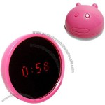 LED Alarm Clock Mirror Creative Alarm Clock