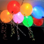 LED Balloon Used For Wedding Or Party