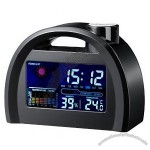 LED Digital Clock Thermometer Hygrometer Calendar Alarm Clock