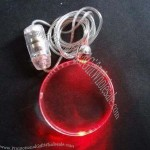 LED Flashing Plastic Necklace