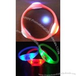 LED Flashing Silicone Bracelet