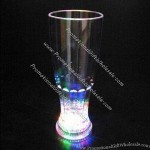LED Flashing Soda Glass