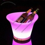 LED Ice Bucket with Battery and Controller