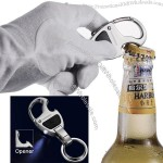 LED Light Keychain wth Bottle Opener