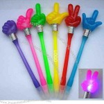LED light pen.