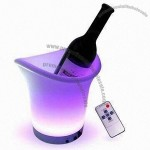 LED Light Wine Cooler