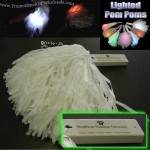 LED Lighted Pom Poms
