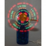 LED Mini Light-Up Handheld Personal Fan