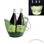 LED Oval Champagne Cooler