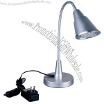 LED Table Lamp Silver