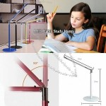 LED Table Study Lamp – 360° Adjustable Neck Allows Easy Adjustment Of Light Direction