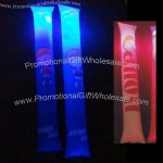 LED thunder stick, lights up when hit together