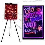 LED writing board with remote control
