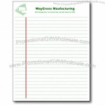 "Legal Pads - Notepad Binding, 50 sheets. Letter 8-1/2""x 11"""