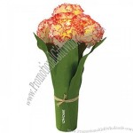 Light Up 5 LED Carnation Bouquet