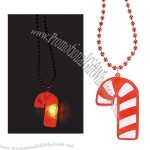 Light-Up Candy Cane Necklaces