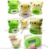 Lite Mini Cartoon Animl Coin Counter Digital Money Bank with Stationery Holder