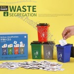 Little Guard Waste Segregation Refuse Classification Trash Can