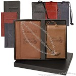 Lloyd Harbor Passport and Magnetic Luggage Tag Set