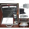 Lockable Aluminum Notary Briefcase