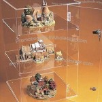 Lockable Counter Top Acrylic Display Case/Showcase