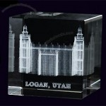 Logan Temple Crystal Cube