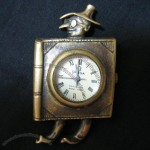 Lovely Style Bronze Mechanical Clock