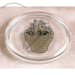 "Lucite Coaster Embedment 3 7/8""X3/4"""