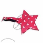 Luggage Tag in Star Shaped