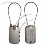 Luggage Tag with Lock Function and Address Label