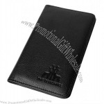 Luxury Leather Scorecard Holder