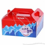 Luxury Packaging Box,Cake Box with Handle, Full Color Printing