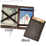 Magic Leather Wallet - Genuine Leather Billfold