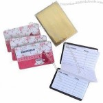 Magnetic Address Books, 12 sheets inner page