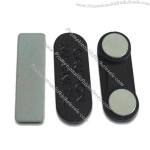 Magnetic Badge Holders, Measures 32 x 10mm, Foam Pad with Peel-away Liner