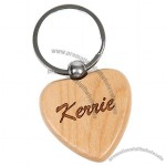 Maple Heart Key Chain