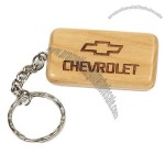 Maple Rectangular Key Chain