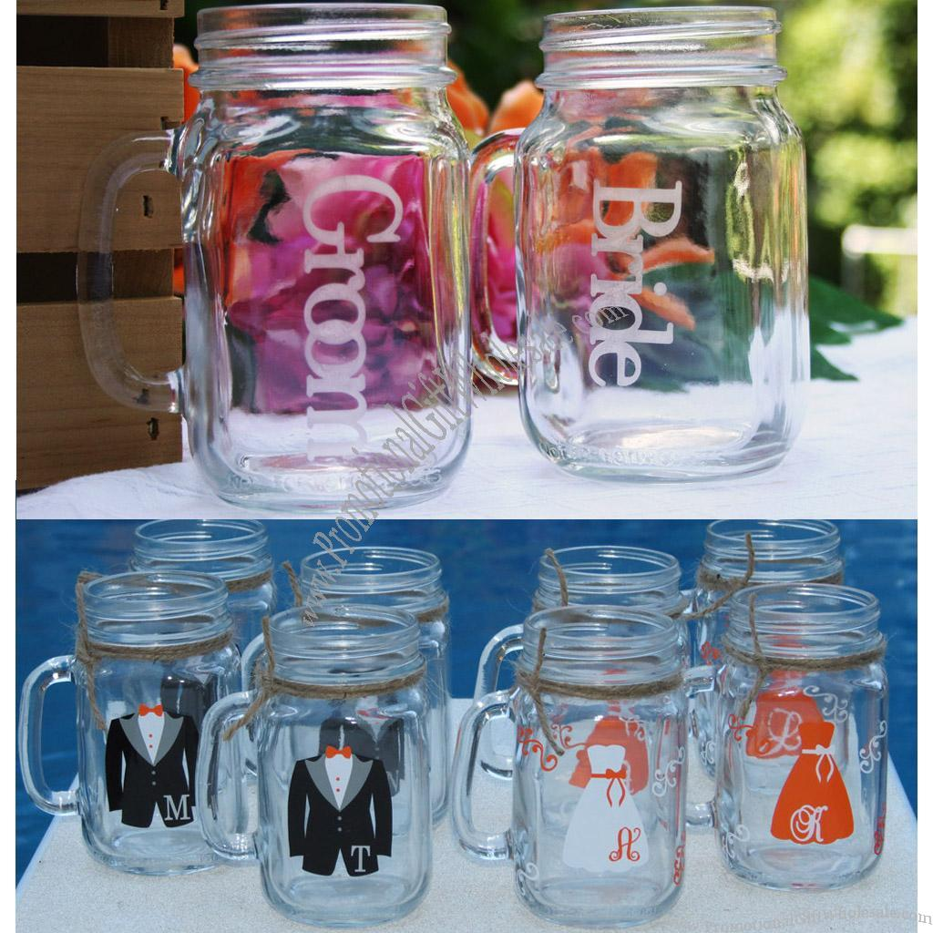 Mason Jar Drinking Gles Wedding Mug Loading Zoom