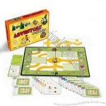 Maze Cards Game Set with Standard Design on Face and Back Side of Cards