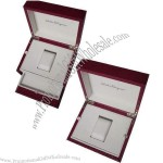 MDF Watch Box With Leatherette Paper Surface