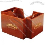 MDF Wooden Napkin Holder - Bar Caddy