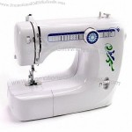 Medium-size Needle-wire Electric Double Stitch Cordless Household Desktop Sewing Machine