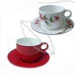 Melamine Cup and Saucer