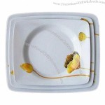 Melamine Dish, 8/9/10 Inches
