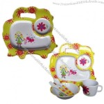 Melamine Kids Dinner Set, Easy to Clean