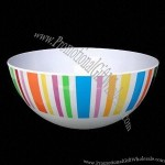 Melamine Round Deep Bowl, Measures from 6-12 inches