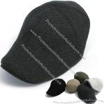 Men Flat Cap Cabbie Hat Gatsby Ivy Caps Irish Hunting Plain Hats