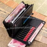 Men Long Wallet with Strap